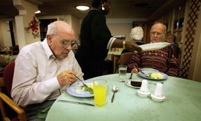 "1 in 4 care home residents ""treated like children"" at mealtimes"