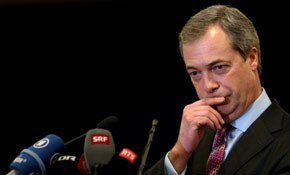 Farage turns 50, but public think he's older