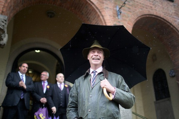 UKIP move to first place in Euro elections