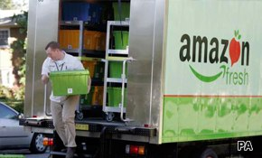 Amazon grocery service a hit