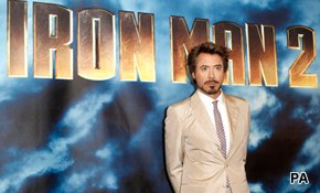 Cast iron comments for Iron Man 2