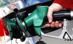Keeping petrol costs down