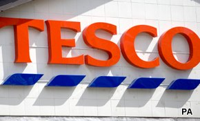 Mixed support for Tesco in Britain