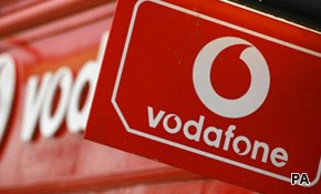 Vodafone edging ahead of O2