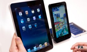 Tablet trends: media on top
